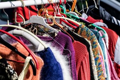 cluttered women's sweaters