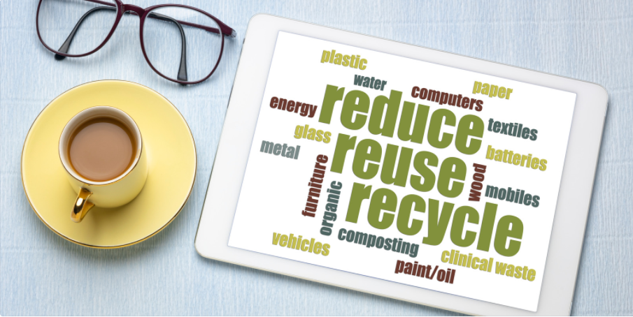 3. Canva - Reduce reuse recycle
